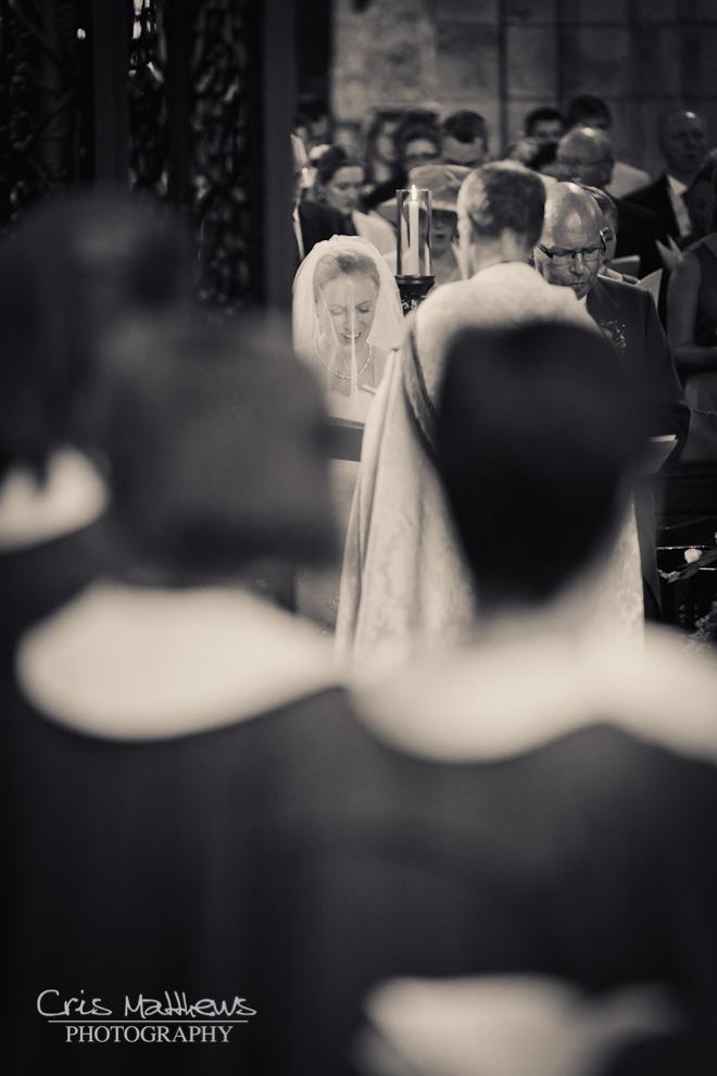 Cartmel Priory & Racecourse Wedding Photography (7)