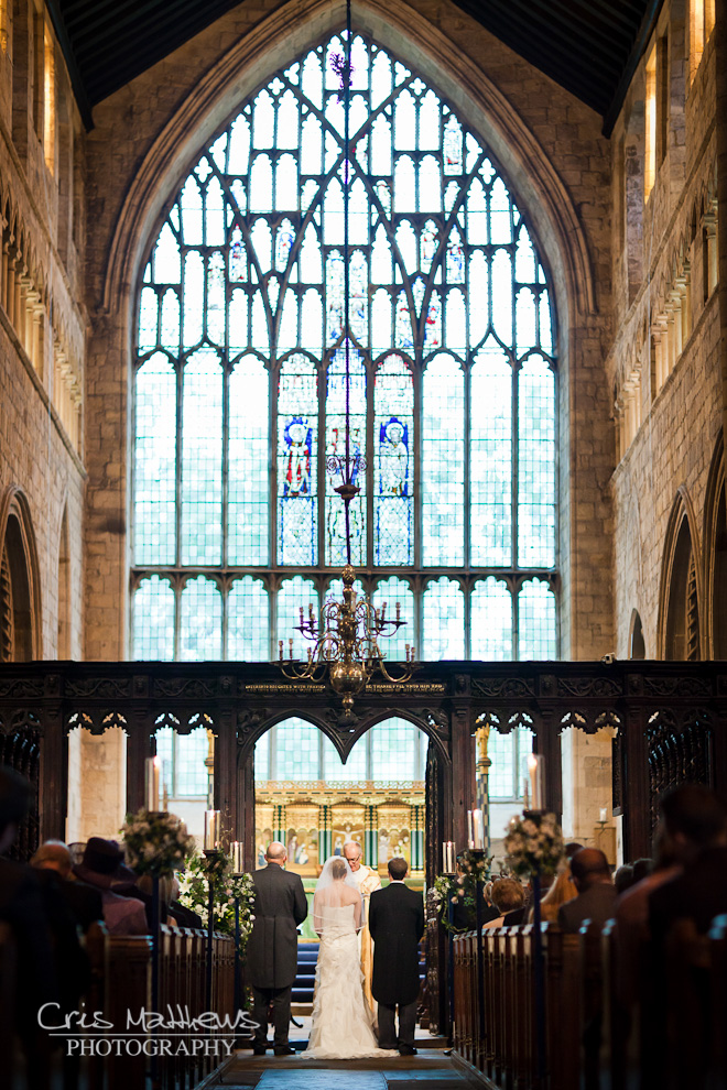 Cartmel Priory & Racecourse Wedding Photography (9)