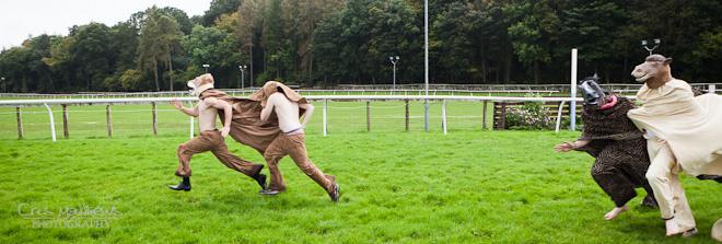 Cartmel Priory & Racecourse Wedding Photography (27)