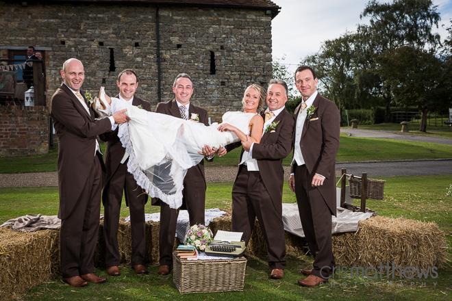 The Barn Cilton Wedding Photographerr (33)