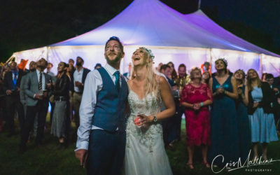 Festival Tent Wedding – Lucy & Matthew