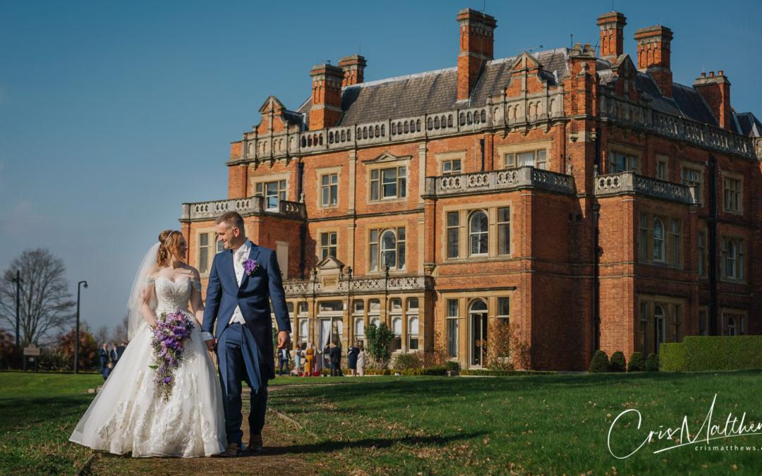 Rossington Hall Wedding Fireworks – Liane & Stephen
