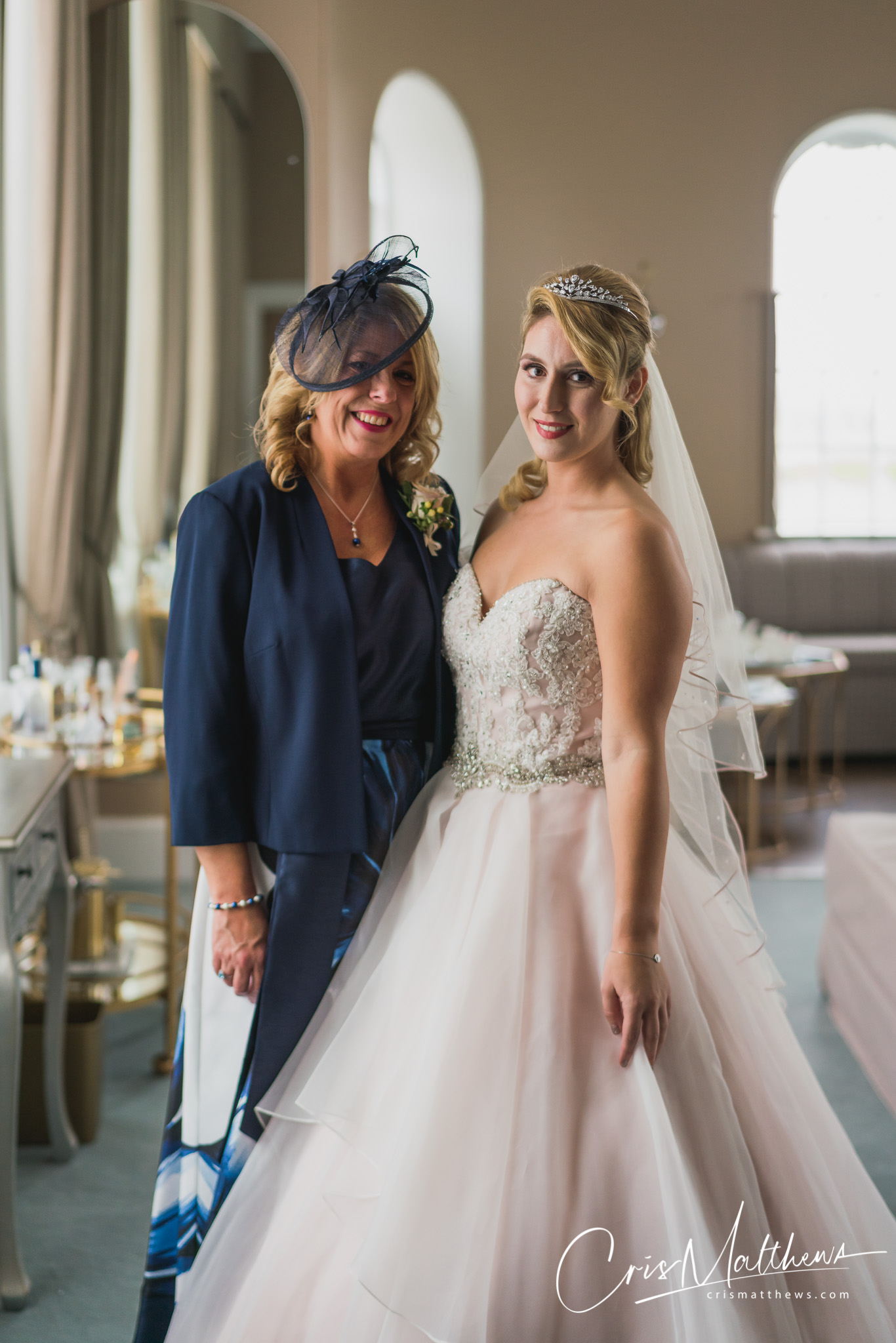 Mother of the Bride at Hawkstone Hall Wedding Photography