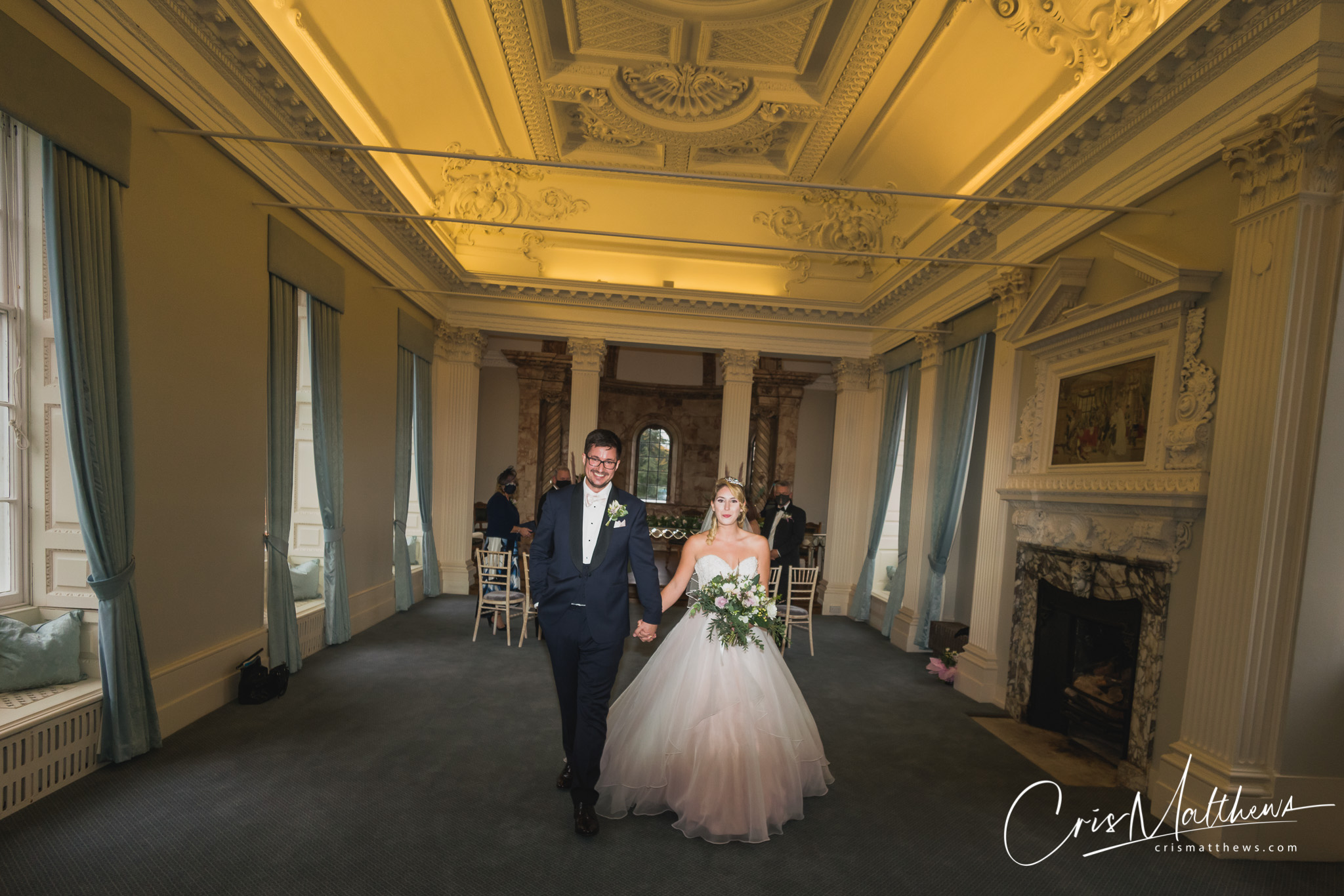 Ceremony at Hawkstone Hall Wedding Photography