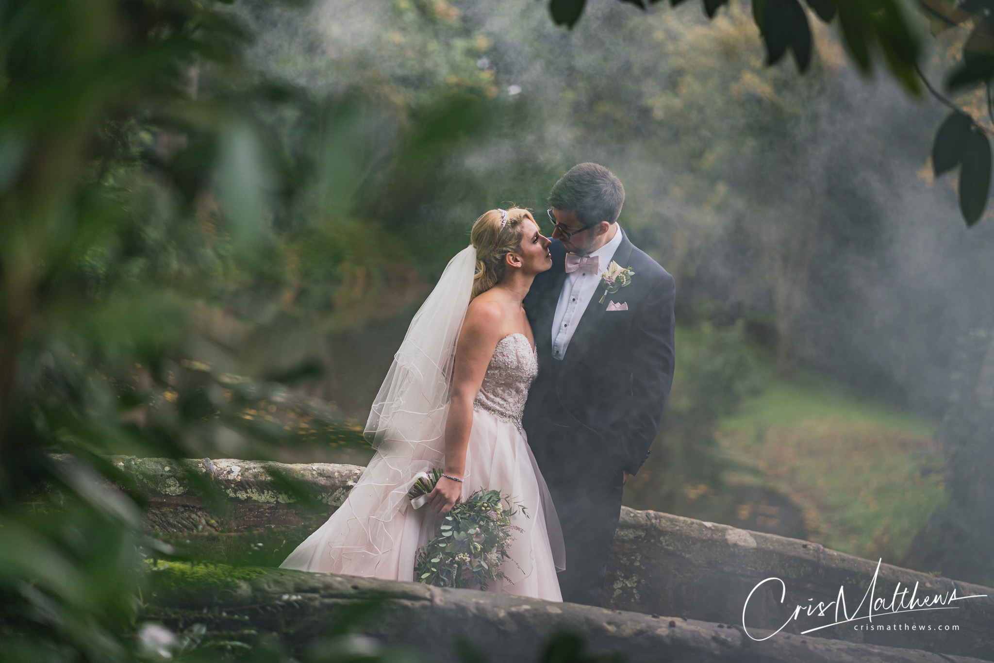 Wedding Portrait at Hawkstone Hall Wedding Photography