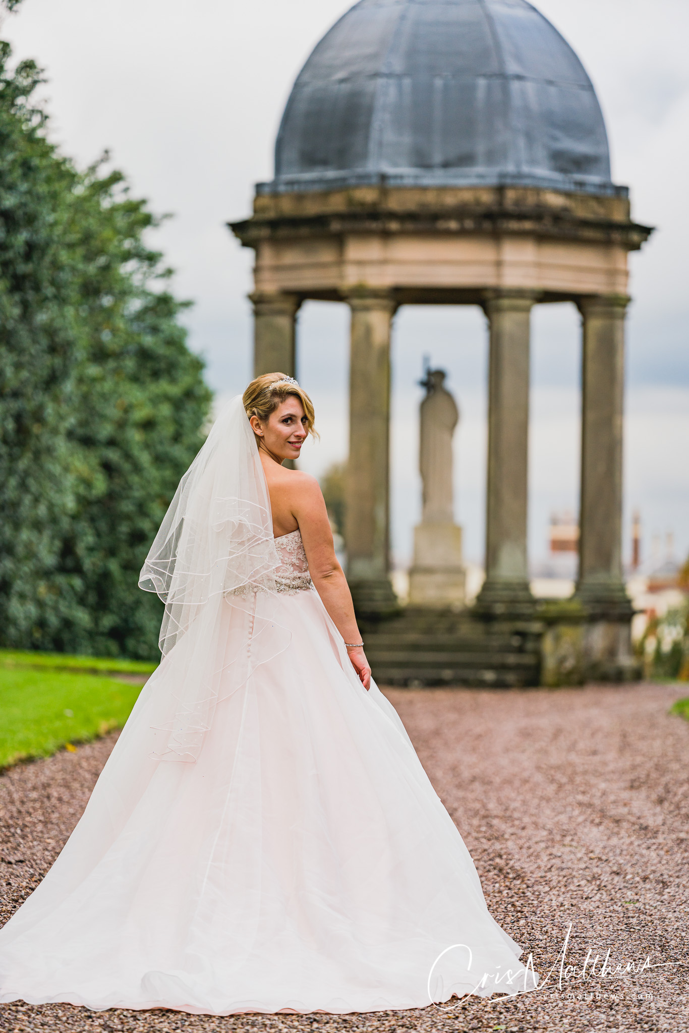 Stunning Bride at Hawkstone Hall Wedding Photography