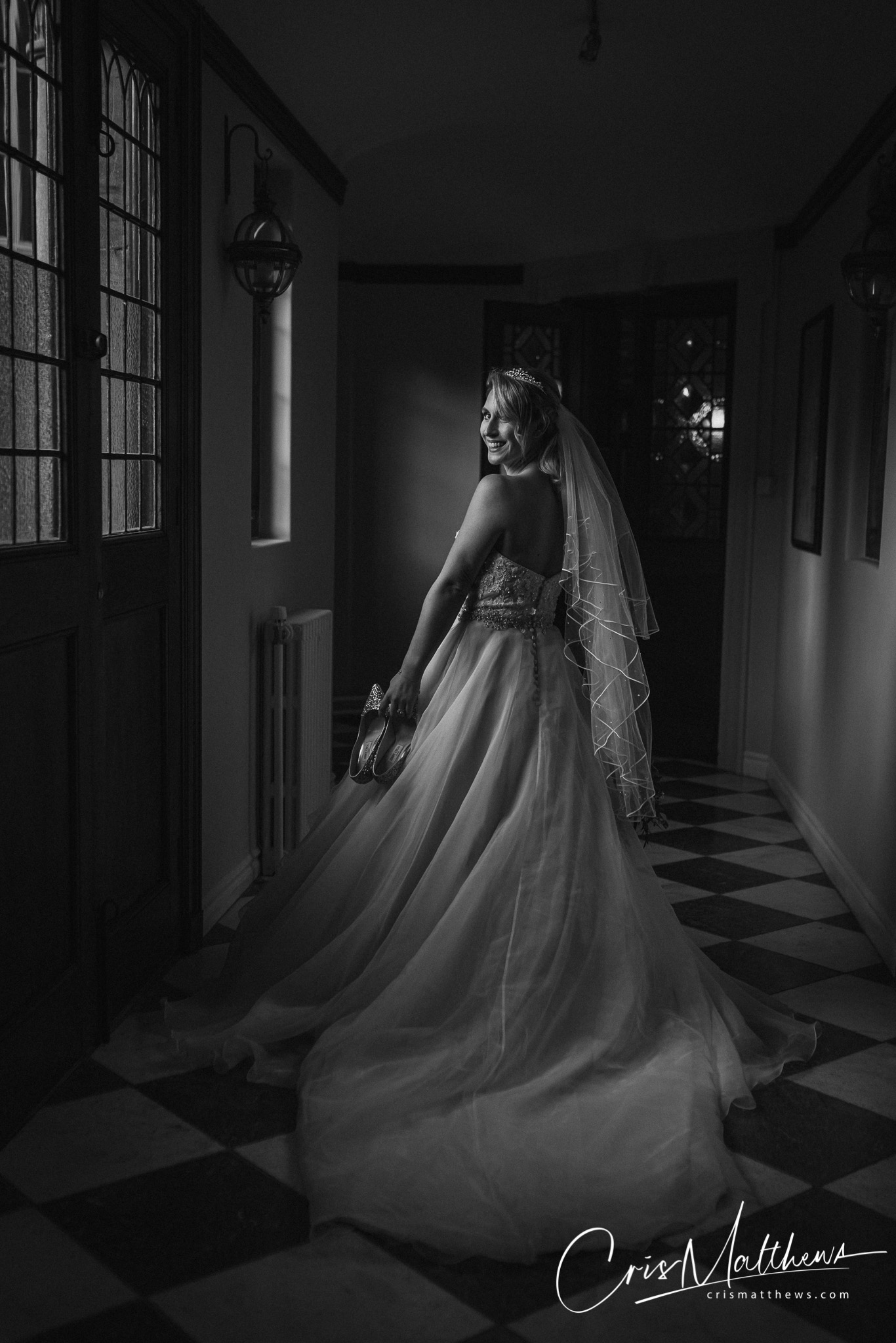 Incredible Bride Hawkstone Hall Wedding Photography